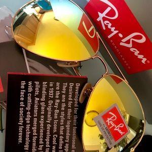 Ray Ban Aviator Polarized Sunglasses for Men/Women